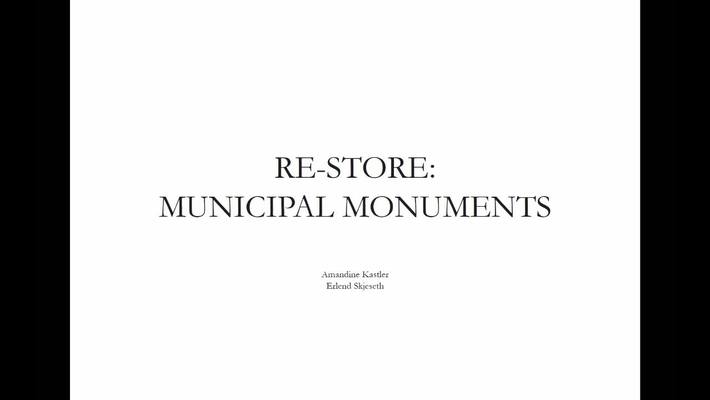 ARK - RE-Store - Municipal Monuments