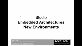 ARK-UL - ACDL - Embedded Architectures + Information-Based Design