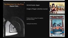 FTH - Occas Studio - Egypt   (Elective) Images of Egypt