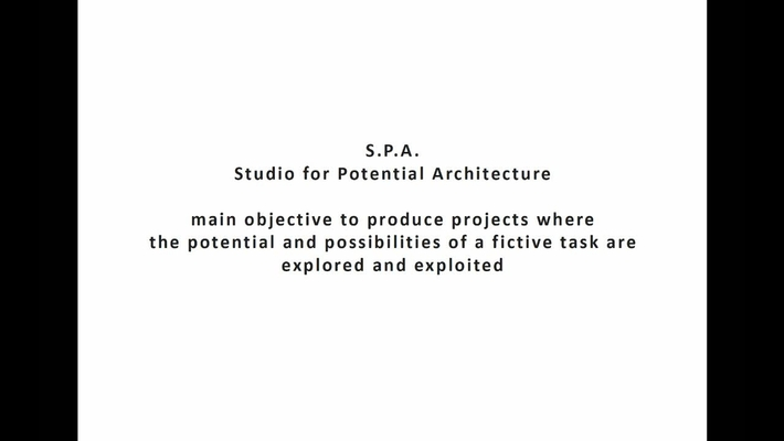 ARK - Studio for Potential Architecture (S.P.A.)