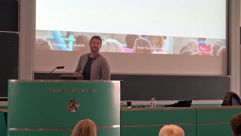 Skoleledelse på nye betingelser, med nye dilemmaer - Peter Busch-Jensen