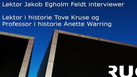 Fortider tur/retur Reenactment og historiebrug - Interview med Anette Warring og Tove Kruse