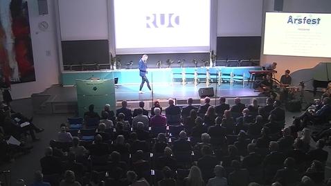 Peter Kjærs tale til RUC's Årsfest 2017