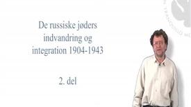 Morten Thing, de russiske jøders indvandring og integration i Danmark i perioden 1904-1943 - del 2