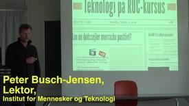 Peter Busch-Jensen; Pædagogisk Torsdag: Teknologier, der understøtter læring i undervisning og vejledning.
