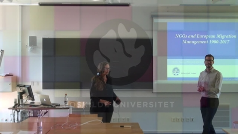 Marlou Schrover on NGOs and European Migration Management