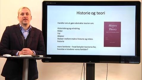 Kursuspræsentantion – Historie og teori