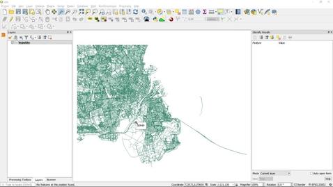 QGIS Distance in network (Vector)