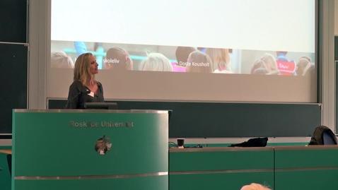 Forældres samarbejde om børns fællesskaber i skolen - Dorte Kousholt
