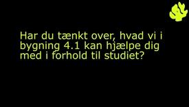 Studievejledning i Bygn. 44.1