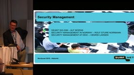 Thumbnail for entry Information Security Management in Practice - NDN16 - Track3 D2 1330