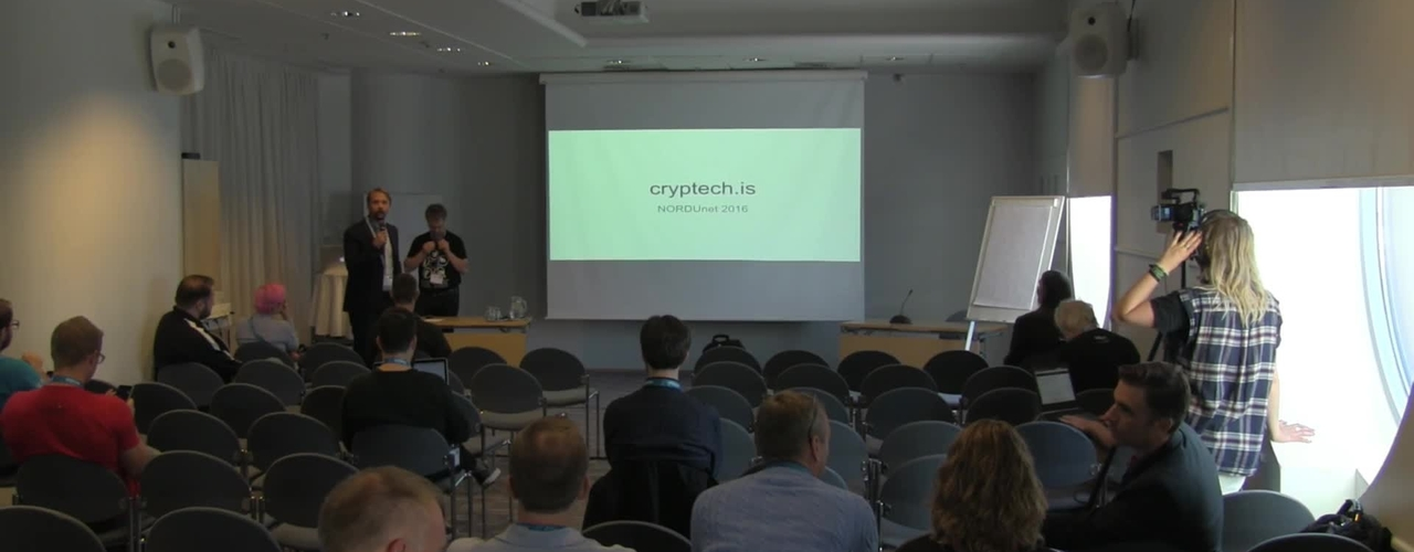 Cryptech - The Value of Key Management - NDN16 - Track3 D2 1100