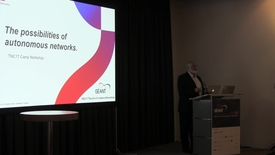 Ciena workshop: The possibilities of the autonomous network