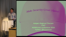 Web security and Secure Research - NDN16 - Track3 D3 0900