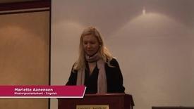 Masterstudent i engelsk Mariette Aanensen