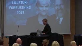 Thumbnail for entry Lilletun forelesning 2018 - Kristin Halvorsen