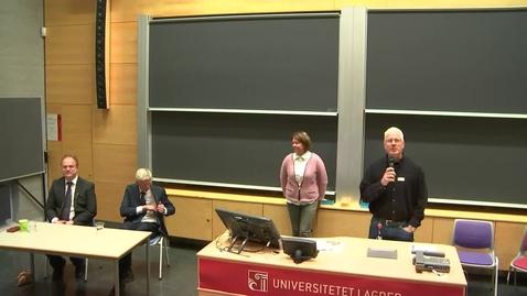 Thumbnail for entry Rektorvalg 2015 - Samtaleintervju i Kristiansand