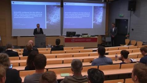 Thumbnail for entry Øystein Sylta - Prøveforelesning - 24mai 2017