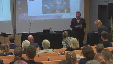 Thumbnail for entry Lilletun forelesning 2018 - Fount Leron Shults