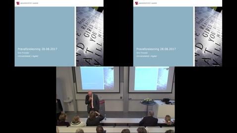 Thumbnail for entry Prøveforelesning - 8/28/2017