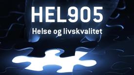 HEL905 - 09 Helse og livskvalitet