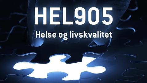Thumbnail for entry HEL905 - 09 Helse og livskvalitet