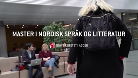 Thumbnail for entry Master i nordisk språk og litteratur