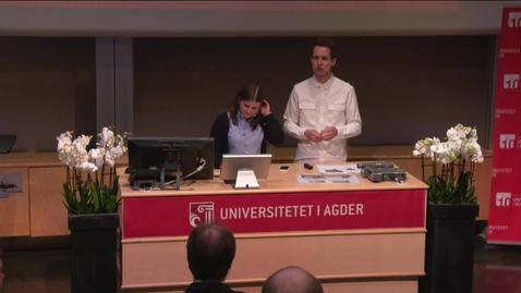 Thumbnail for entry Madeleine Sjøbrend NSO og Kai Steffen Østensen STA-leder