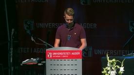 Thumbnail for entry Studiestart 2016 Grimstad - Kai Steffen Østensen