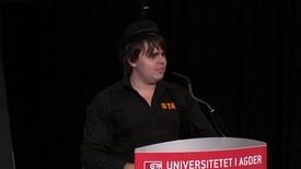Studiestart Grimstad 2013 - Ruben Haugland