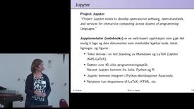 Thumbnail for entry 10 Bruk av Jupyter i undervisning i numerisk matematikk ved NTNU - med Anne Kværnø
