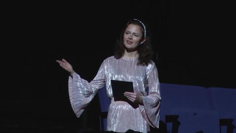 Thumbnail for entry UiA 10 års jubileum - Konferansier Helga Farestveit