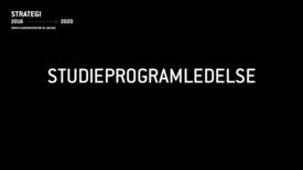 LUF1 - Studieprogramledelse