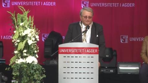 Thumbnail for entry Studiestart 2015 - ordfører Arvid Grundekjøn