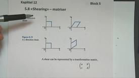 Kapittel 12 5.8 Shearing - matriser