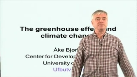 The greenhouse effect and climate change