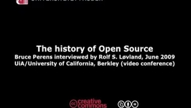 Thumbnail for entry Open Source - Open Science  - Bruce Perens interview 2