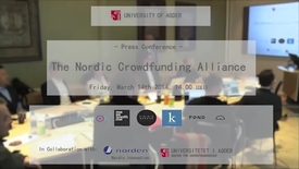 Thumbnail for entry The Nordic Crowdfunding Alliance