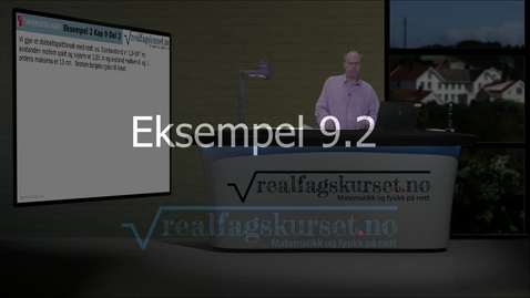 Thumbnail for entry Eksempel 9.2