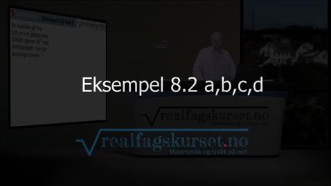 Thumbnail for entry Eksempel 8.2 a,b,c,d