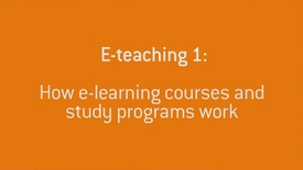 03 How E-learning works