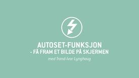 Oscilloskop 05 - Autoset-funksjon - få fram et bilde på skjermen