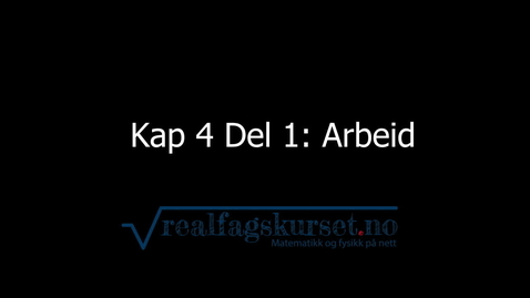 Thumbnail for entry Kapittel 4, del 1 - Arbeid