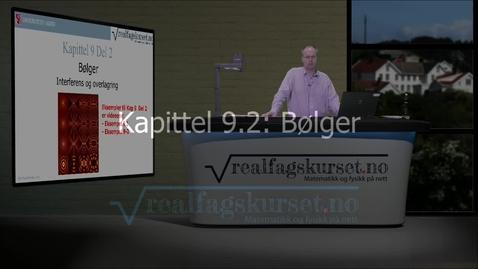 Thumbnail for entry Kapittel 9.2: Bølger