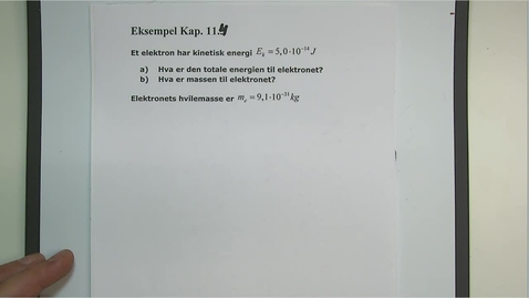 Thumbnail for entry Eksempel 11.4