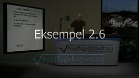 Eksempel 2.3.1