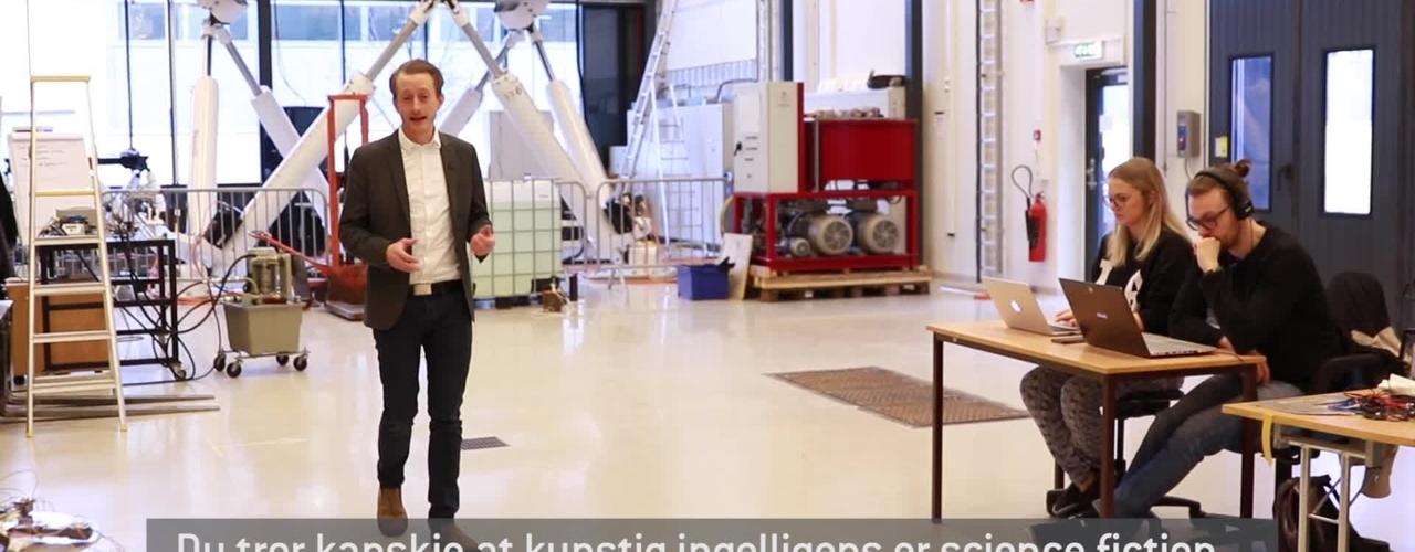 Lær om kunstig intelligens - ta en master i IKT ved Universitetet i Agder