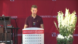 Tale ved studiestart 2016 KRS - STA-leder Kai Steffen Østensen
