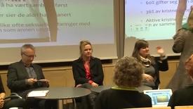 Thumbnail for entry Likestillingskonferansen 2012 - Samtale mellom foredragsholdere og publikum