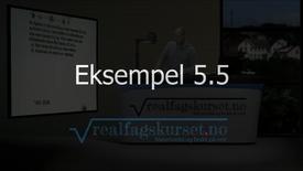 Thumbnail for entry Eksempel 5.5